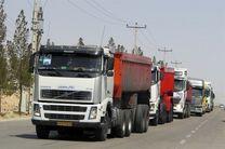 رفت و آمد خودروهای سنگین در استان خراسان رضوی ممنوع شد