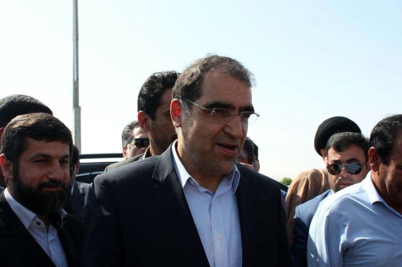 ملاقات وزیر بهداشت از مجروحان حادثه تروریستی اهواز