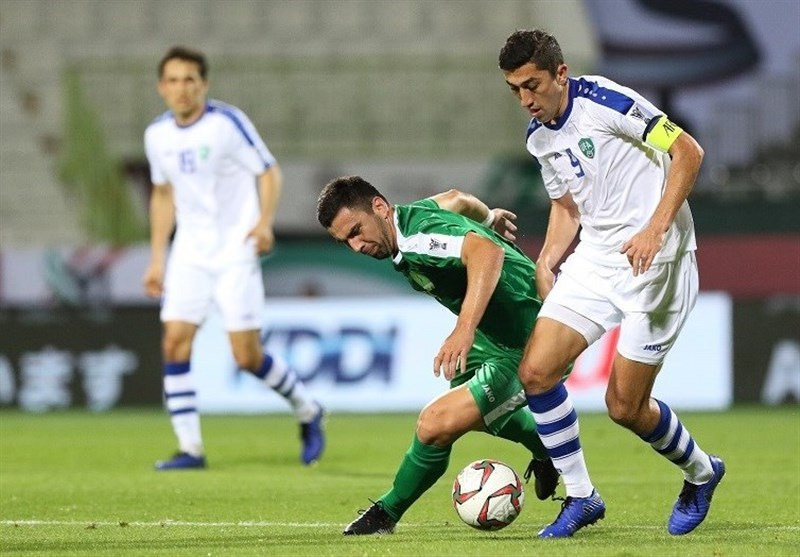نتیجه بازی ازبکستان و ترکمنستان/ صعود ازبک ها به مرحله یک هشتم نهایی