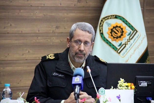 برخورد با دور دور کردن 600 خودروی سواری  در عملیات ظفر 5 پلیس اصفهان
