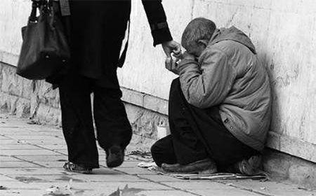 متکدی میلیاردر در قزوین دستگیر و روانه زندان شد