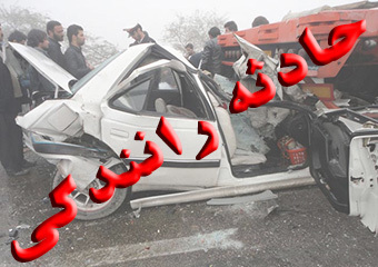 2مجروح بر اثر واژگونی 2 دستگاه خودرو در نایین