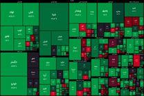 شاخص بورس در جریان معاملات امروز ۸ دی ۹۹/ شاخص به یک میلیون و ۴۳۷ هزار واحد رسید