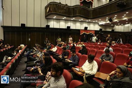 اولین نشست خبری رییس سازمان سینمایی