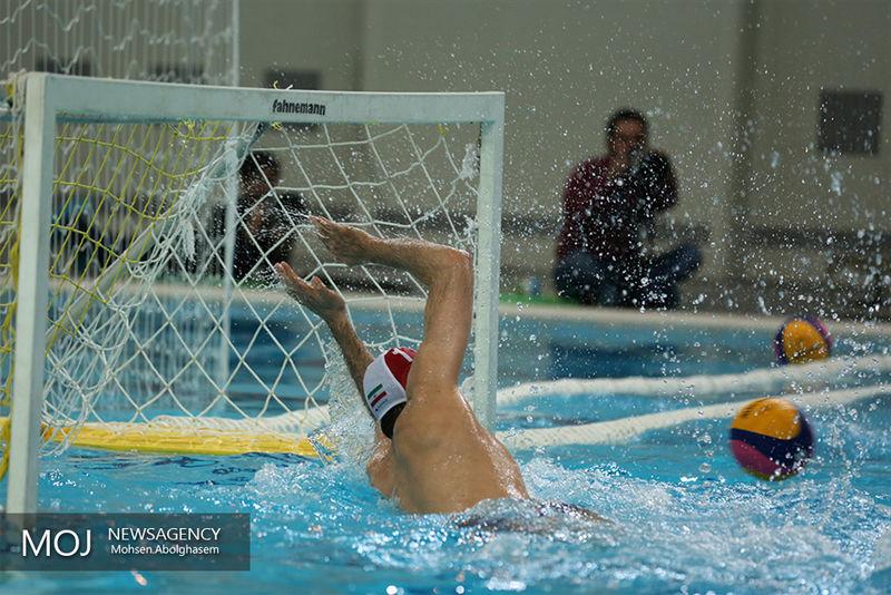 تیم ملی واترپلوی ایران مقابل لاتینا ایتالیا به پیروزی رسید