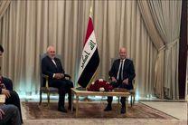 ظریف با رئیس جمهور عراق دیدار و گفتگو کرد