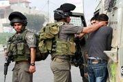 یورش نظامیان صهیونیست به کرانه باختری/ ۲۲ فلسطینی بازداشت شدند