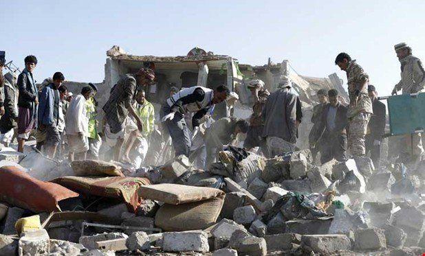 حملات ائتلاف عربی در یمن جان ۱۰۹ غیر نظامی را در ۱۰ روز گرفت