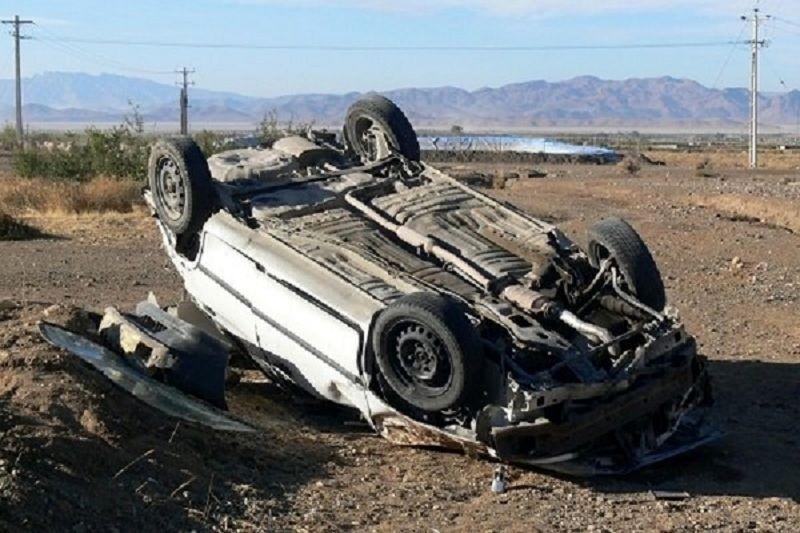 ۵ کشته در پی واژگونی سمند در جاده بوشهر
