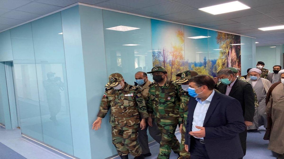 بخش های جدید بیمارستان خانواده نیروی زمینی ارتش افتتاح شد