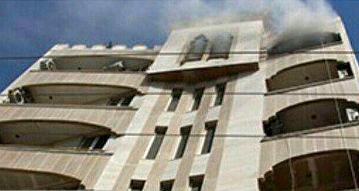 نجات جان سه شهروند در آتش سوزی واحد مسکونی در بندرعباس