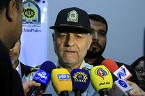 اهدای ۶ هزار و ۸۳ عدد ماسک توسط پلیس راهور ناجا