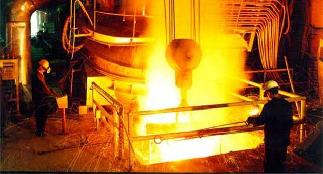 رشد تولید در گروه فولاد مبارکه اصفهان