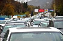 محورهای شمالی کشور با ترافیک سنگین همراه است