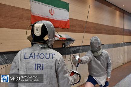تمرینات آماده سازی شمشیربازان اردبیل