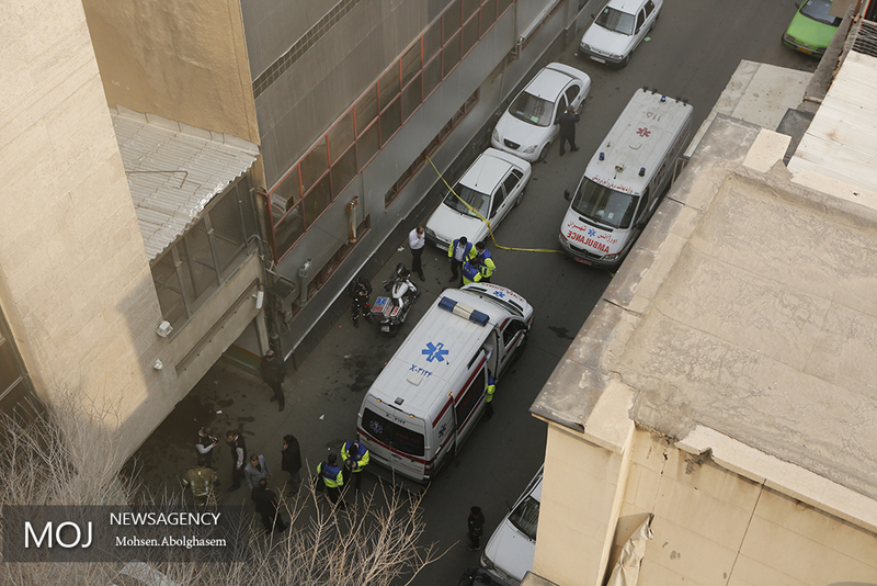 هشدار به ساکنین و کسبه اطراف ساختمان برق وزارت نیرو تا شعاع 100 متری