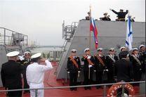 ناوگروه ارتش روسیه در بندرانزلی پهلو گرفت