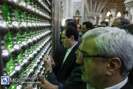 تجدید میثاق مدیران و کارکنان وزارت کشور با آرمان های امام راحل (ره)
