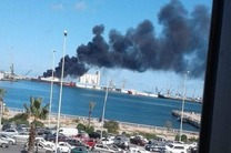 حمله به کشتی ترکیه در بندر طرابلس تکذیب شد
