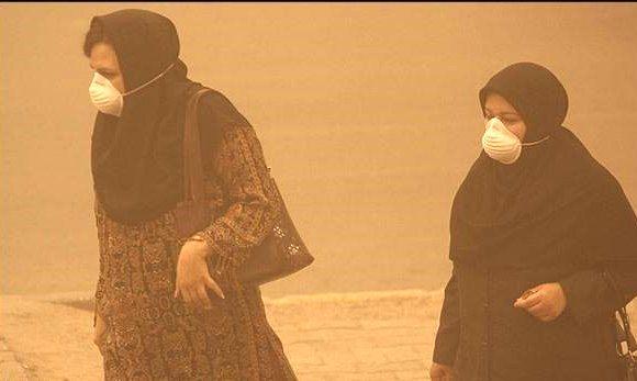 پدیده گرد وخاک خوزستان تا پایان امروز ادامه می یابد