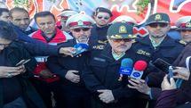 پلیس امنیت مناطق سیل زده را برقرار خواهد کرد