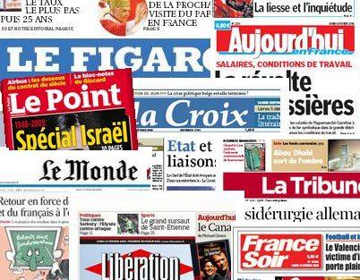 مهمترین عناوین روزنامه های امروز یکشنبه فرانسه