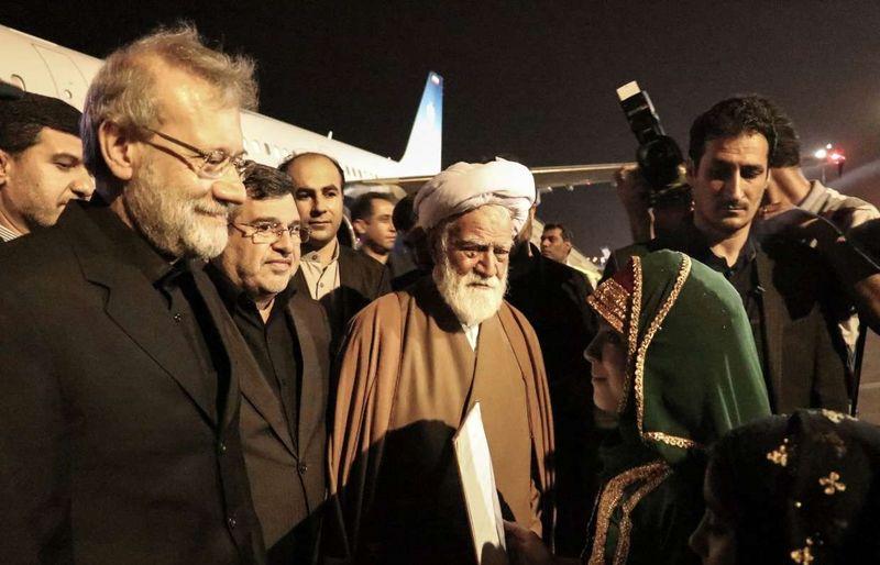 رئیس مجلس شورای اسلامی وارد بندرعباس شد