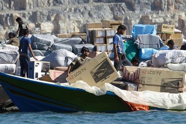 محموله 41 میلیاردی قاچاق در آب های شمالی خلیج فارس کشف شد