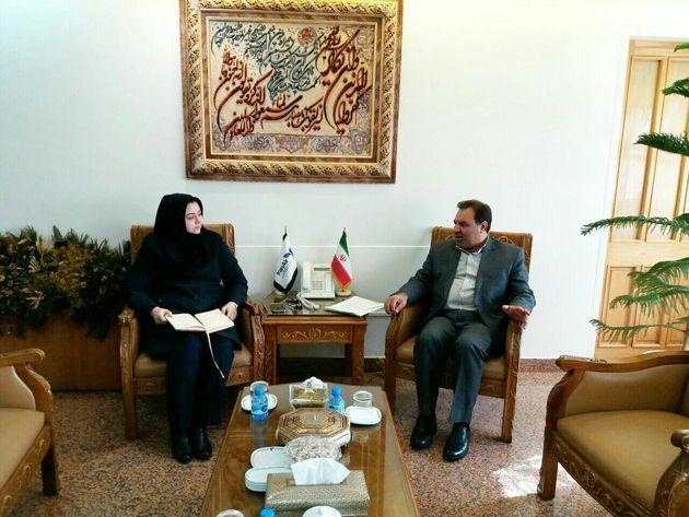 استاندار لرستان به دیدار رئیس فرودگاههای کشور و مدیرعامل ایران ایر رفت