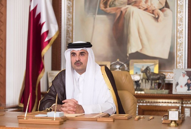 امیر قطر با ترامپ تلفنی گفتگو کرد