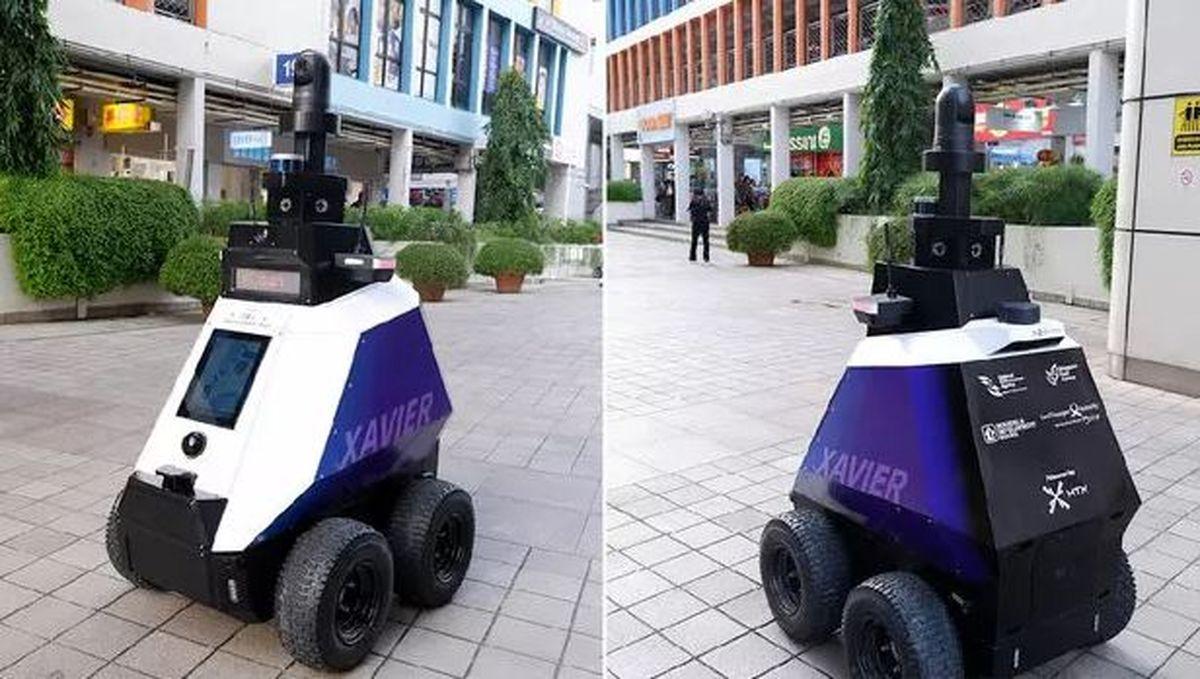 رباتی برای ردیابی رفتارهای غیرقانونی