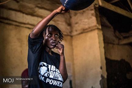بوکسور های کودک کنیایی