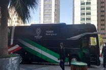 تیم ملی فوتبال یمن از اتوبوس خود رونمایی کرد