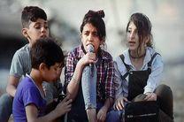 نت های مسی یک رویا، تصویر کودکان فلسطینی در سوریه است