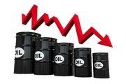 قیمت جهانی نفت در مسیر نزولی