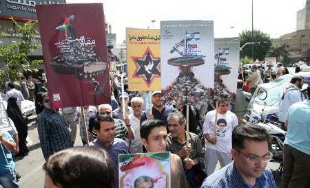 بازتاب تظاهرات روز قدس در رسانه های جهان