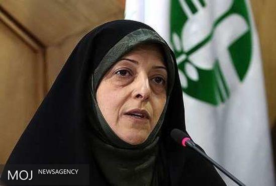 هواپیمای معصومه ابتکار نیمه مسیر به تهران بازگشت