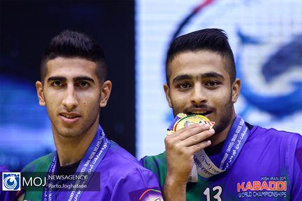 قهرمانی تیم ملی ایران در مسابقات کبدی جوانان جهان