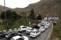 آخرین وضعیت ترافیکی جاده ها در 10 فروردین ماه /جاده های کشور با ترافیکی نیمه سنگین همراه است