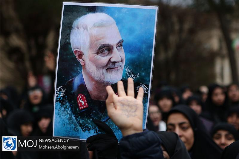 آخرین دست نوشته سردار قاسم سلیمانی ساعاتی قبل از شهادت
