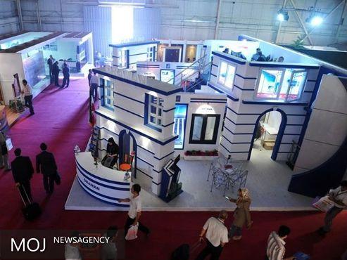 پانزدهمین نمایشگاه سراسری صنعت ساختمان در کرمانشاه آغاز به کار کرد