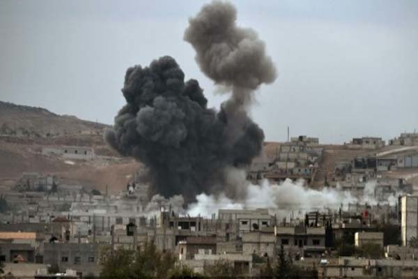 ارتش رژیم صهیونیستی چندین پایگاه حماس در مرزهای شرقی نوار غزه را هدف قرار داد