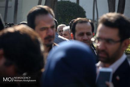 حاشیه جلسه هیات دولت - ۳ بهمن ۱۳۹۷