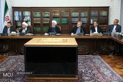 نشست اقتصادی سران قوای سه گانه - ۸ مهر ۱۳۹۷