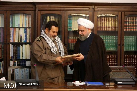 رئیس جمهوری از خدمات سرلشکر فیروزآبادی تقدیر کرد