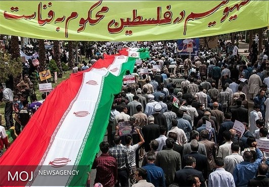 مسیرهای چهار گانه راهپیمایی روز قدس در رشت اعلام شد