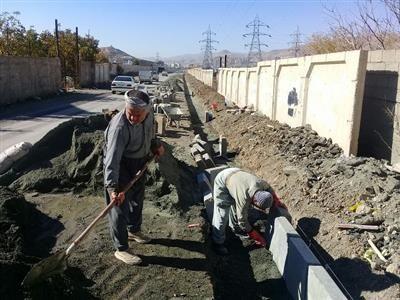 اجرایی شدن عملیات هدایت آبهای سطحی ورودی و خروجی ناحیه منفصل شهری نایسر