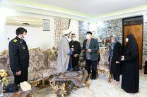 تجلیل از خانواده سربازان شهید ارتش جمهوری اسلامی ایران در شهرستان نوشهر