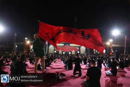 عزاداری شب پنجم ماه محرم در مجموعه ارم