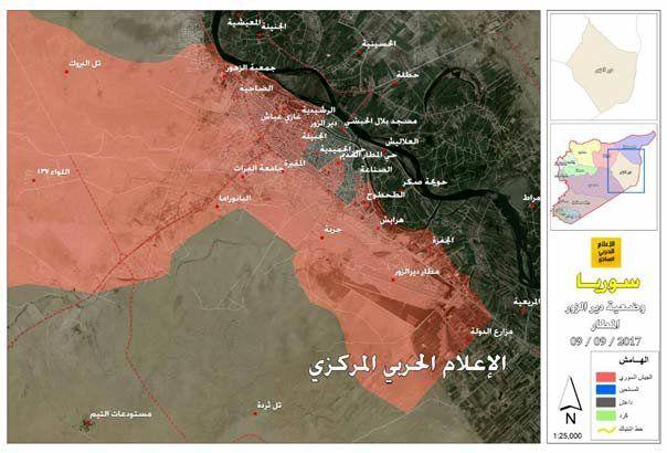 ارتش سوریه محاصره فرودگاه دیرالزور را شکست